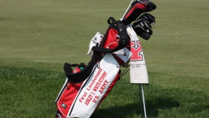 Ashley White Stumpf Golf Bag